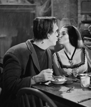 love kissing cute classic horror rockabilly frankenstein the munsters ...