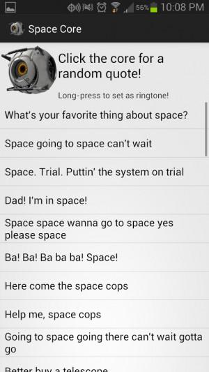 Portal 2 Cores Soundboard - screenshot