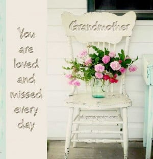 Memorial Cards For Grandmother – Grandmother You are loved and ...