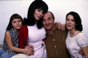 ... Christina Ricci, Winona Ryder, Cher and Bob Hoskins in Mermaids (1990