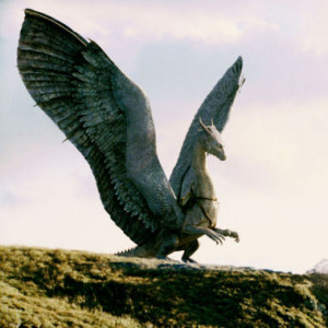 ... and the one below it is the dragon Saphira from the Eragon series