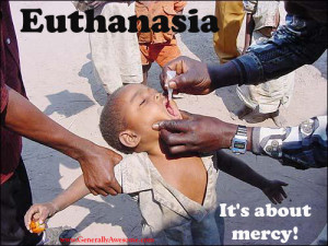 It's About Mercy !