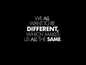 difference, different, life, people, quote, same, text, true, uum ...
