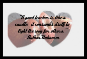 Teacher quote to print and frame