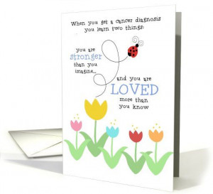 ... & Loved Encouragement For Cancer Patient card by Corrie Kuipers