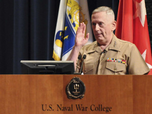 Mattis wants educated leaders that can be both book smart and be able ...