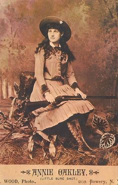 People - Annie Oakley, Little Sure Shot | Flickr - Photo Sharing! More