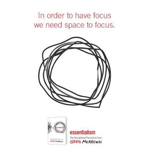 Inspirational quote #focus