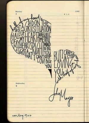 half of my heart-john mayer