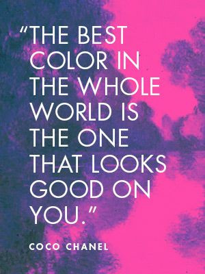 So take note… What's your best color? This applies to your interior ...
