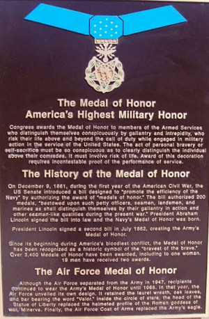 Congressional Medal Of Honor Quotes Quotesgram