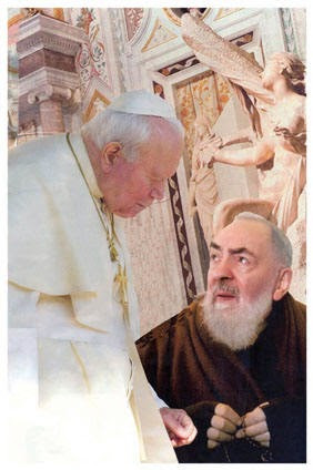 Prayer of Pope John Paul II to St. Pio of Pietrelcina
