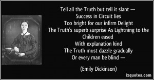 Tell all the Truth but tell it slant — Success in Circuit lies Too ...