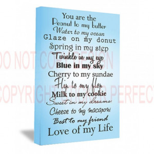 ... my eye blue in my sky cute printed wall art sayings quotes pet home