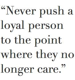 they no longer care ...