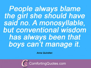 19 Quotes And Sayings By Anna Quindlen