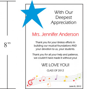 Teacher Appreciation Thank You Quotes