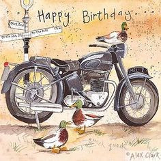 cards motorcycle happy birthday more happy birthday birthday quotes ...