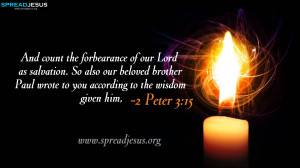 Bible Quotes HD-Wallpapers 2 Peter 3:15 Free Download 2 Peter 3:15 ...