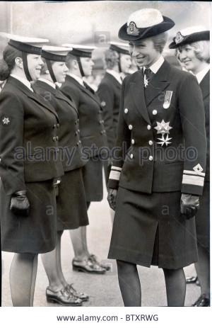 princess anne now princess royal uniforms picture shows princess anne