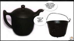 ... pot calling the kettle black now. Brittany: That's so racist. What