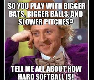 Funny Slow Pitch Softball Memes