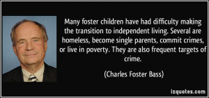 More Charles Foster Bass Quotes