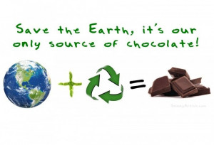 Save the Earth (and Chocolate!)