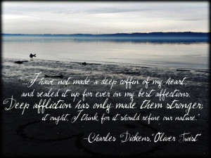 from oliver twist by charles dickens i have not made a deep coffin of ...