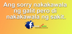 Sorry DUP Tagalog Sorry Quotes