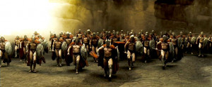 In addition, the Spartans possessed the laconic behavior which was ...