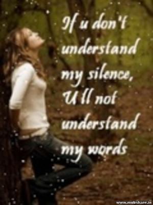 Plz understand me