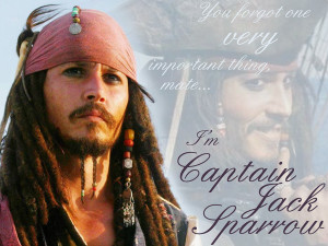 Captain Jack Sparrow Wallpaper Quotes Captain jack sparrow wallpaper