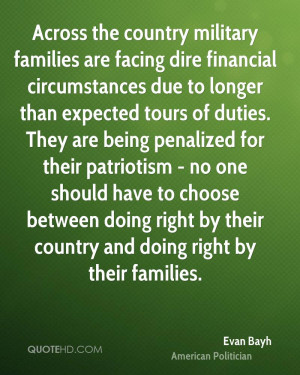 Across the country military families are facing dire financial ...