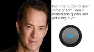Tom Hanks Memorable Quotes
