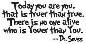 dr seuss quote today you are vinyl wall art write a review this dr ...