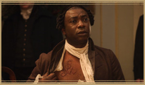 Olaudah Equiano played by Youssou N'Dour