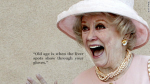 One Liners On Old Age