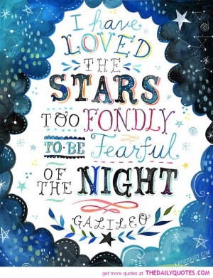 Star Poems and Quotes