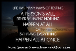 Inspirational Quotes for Life Challenges Pictures | Life Challenges ...