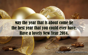 Happy New Year 2014 Love Quotes for Him Wallpaper HD Wallpaper