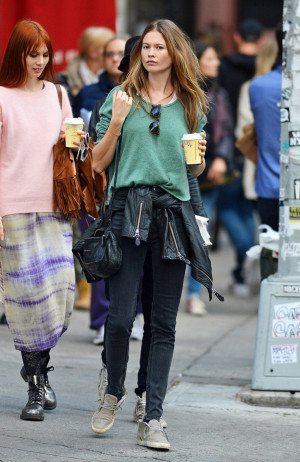 Behati Prinsloo And Her Nyc