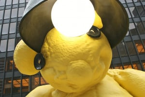 """Urs Fischer's """"Untitled (Lamp/Bear)"""" (2005 6) (all photos by ..."""