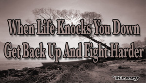 Motivational quotes life fight