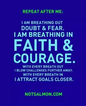 FAITH AND COURAGE