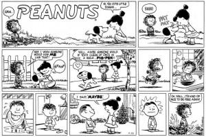 Pigpen Peanuts Clean September 26, 1954 - clean pig-pen