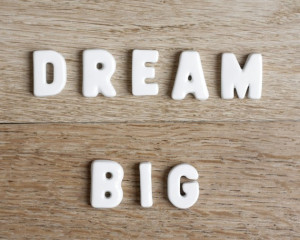Inspirational quote Dream Big Typography photography print , Fine art ...