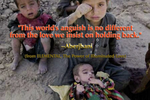 This world's anguish is no different from the love we insist on ...