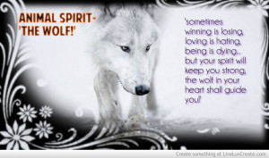 Inspiration Wolf Quotes