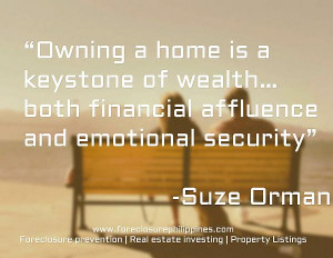 Owning a home is a keystone of wealth… both financial affluence and ...